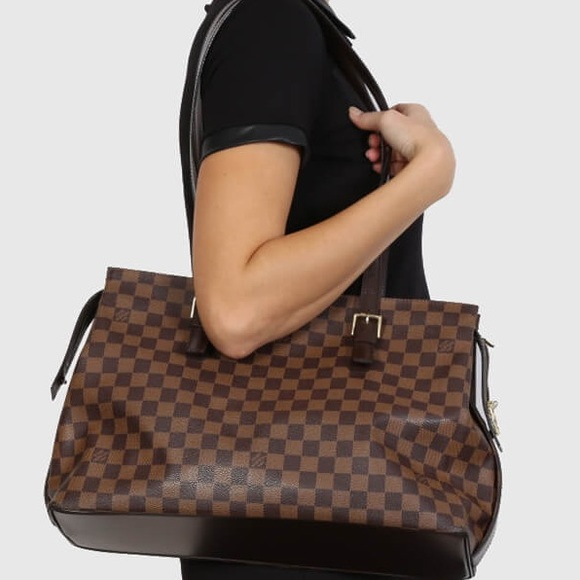 ✨BEAUTIFUL✨LOUIS VUITTON Damier Ebene Chelsea Tote